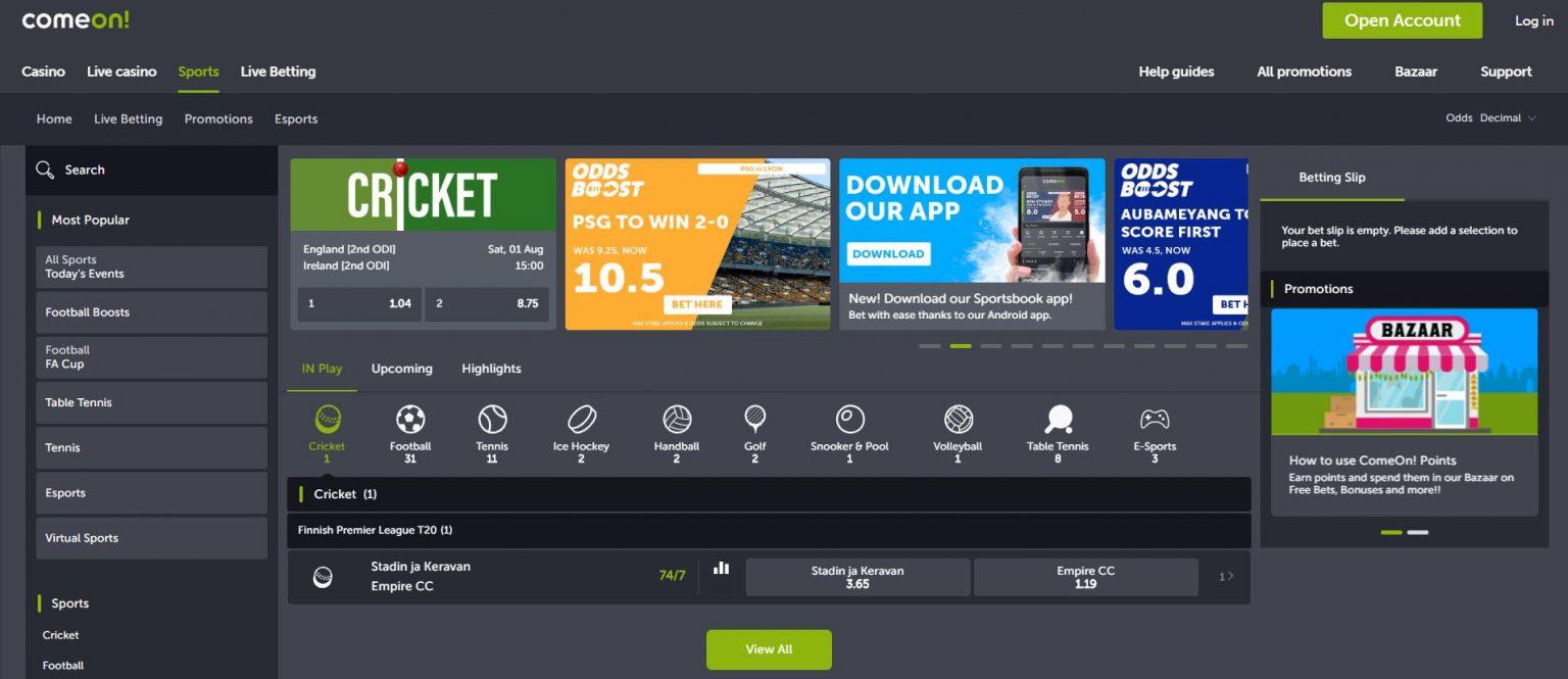 Live cricket betting rates ipla editor 99b para mutual betting