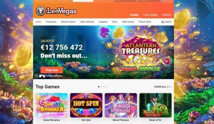 LeoVegas Casino Review (India) - ₹10,000 Welcome Bonus - CBL
